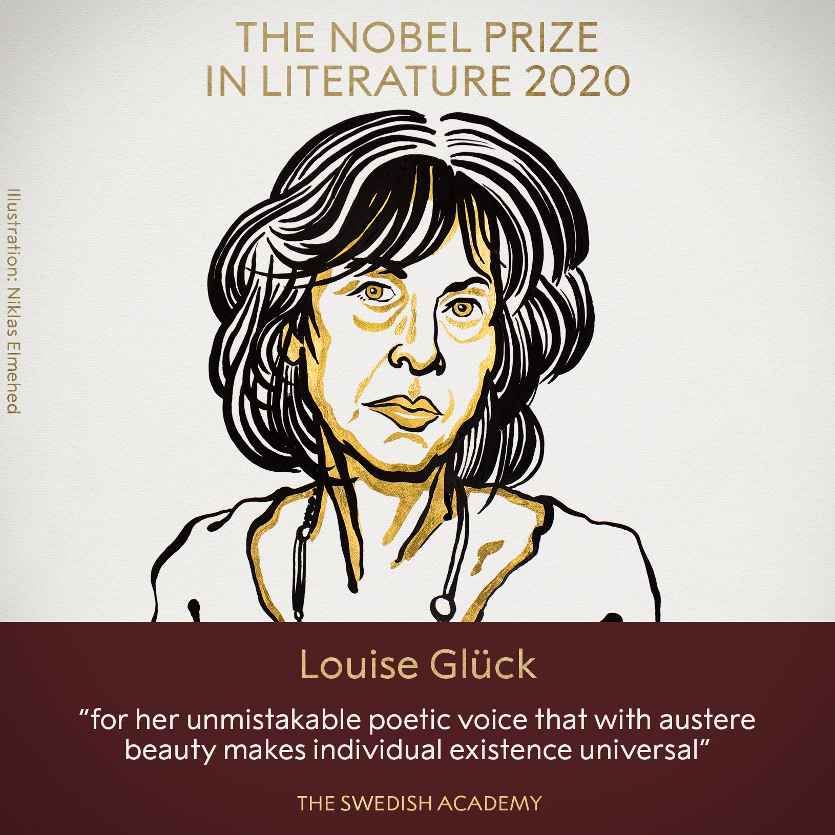 Louise Glück wins the 2020 Nobel prize in literature