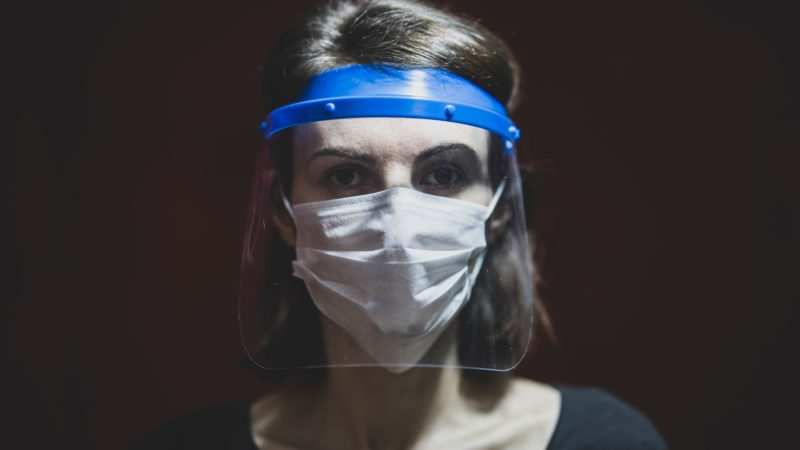 Plastic face shields do not control spread of COVID-19, study finds