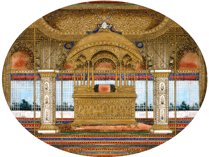 The Missing Shah Jahan's Peacock Throne