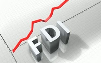 FDI inflow in India is consistently rising