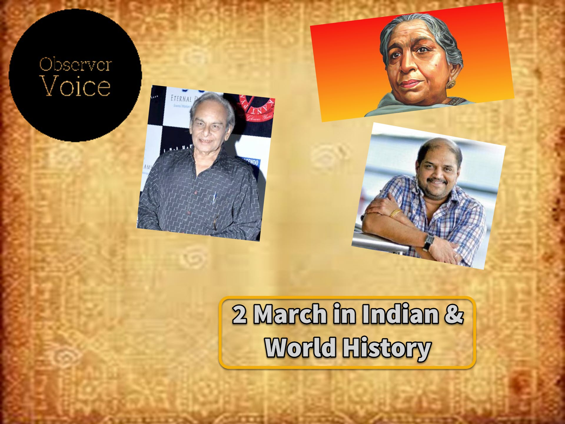 2 March in Indian History