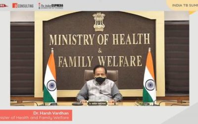 Dr Harsh Vardhan delivers Keynote Address at the India TB Summit