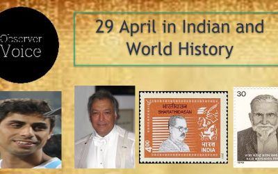 29 April in Indian and World History