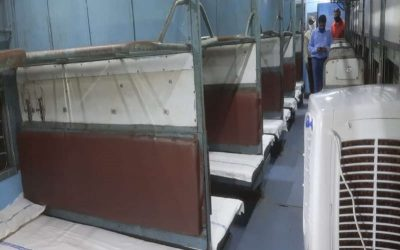 70,000 Isolation beds made available by Railways in more than 4400 Covid Care Coaches