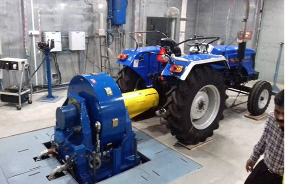 First-ever test of Electric Tractor