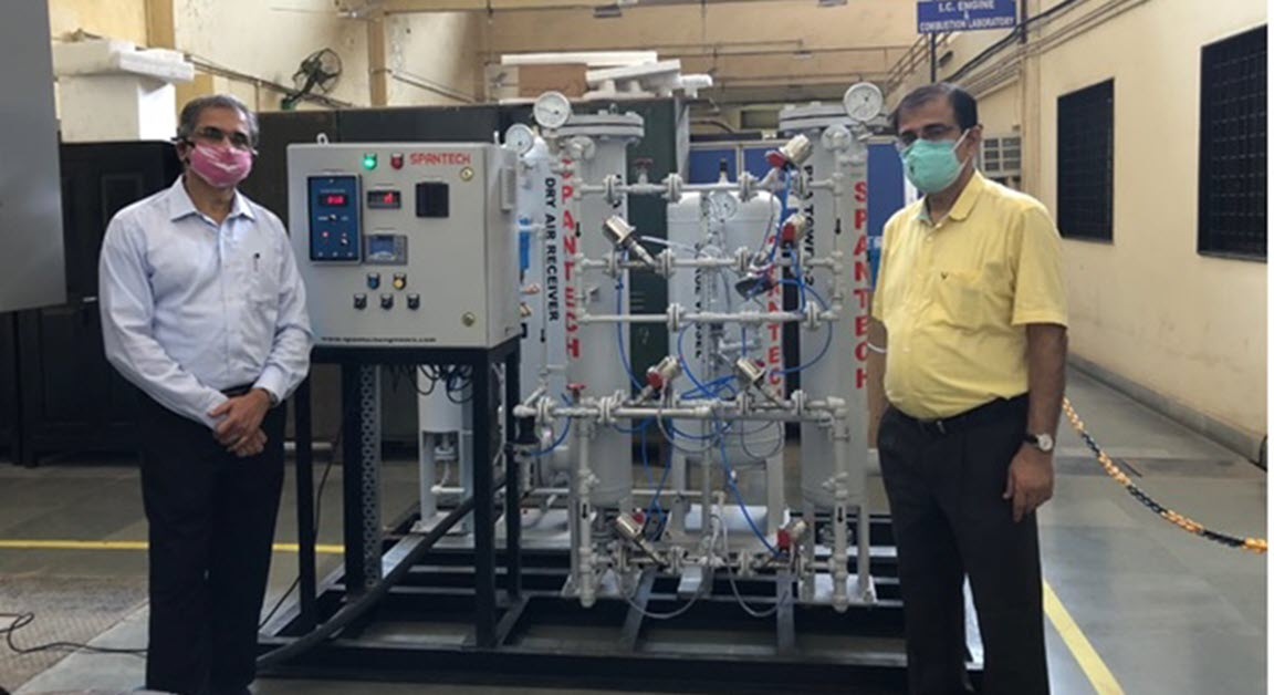 IIT Bombay shows how to solve Oxygen shortage by converting Nitrogen Generator into Oxygen Generator