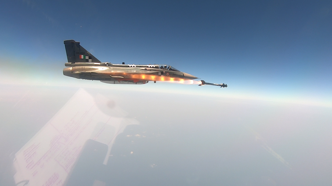 DRDO conducts maiden trial of Python-5 Air to Air Missile