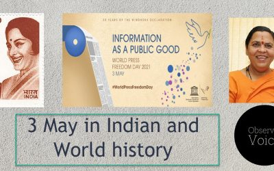 3 May in Indian and World History
