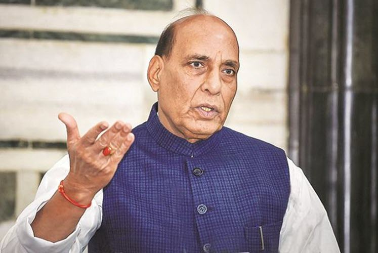 Shri Rajnath Singh reviews efforts in fight against second COVID-19 wave
