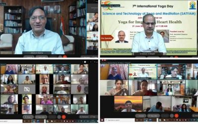 DST promotes a scientific approach to Yoga on 7th International Yoga Day
