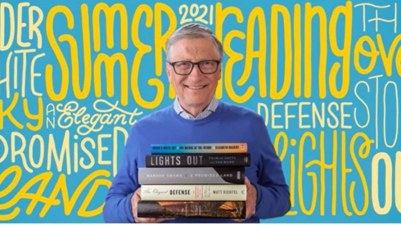 Bill Gates recommends 5 ideas for summer reading