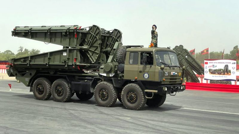 DRDO's Short Span Bridging System-10 m inducted into Indian Army