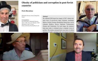Obesity of a country's politicians may be a good indicator of that country's corruption: 2021 Ig Nobel Winner