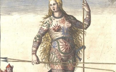 Tattoos have a long history going back to the ancient world – and also tocolonialism